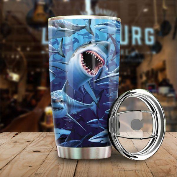 Shark stainless steel tumbler 3
