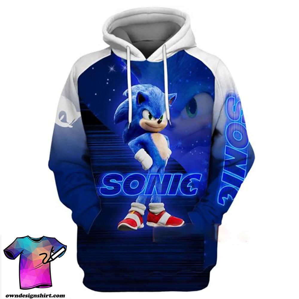 Sonic The Hedgehog Full Printing Shirt