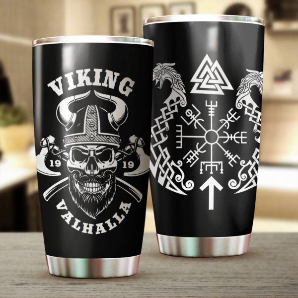 Viking valhalla stainless steel tumbler 2