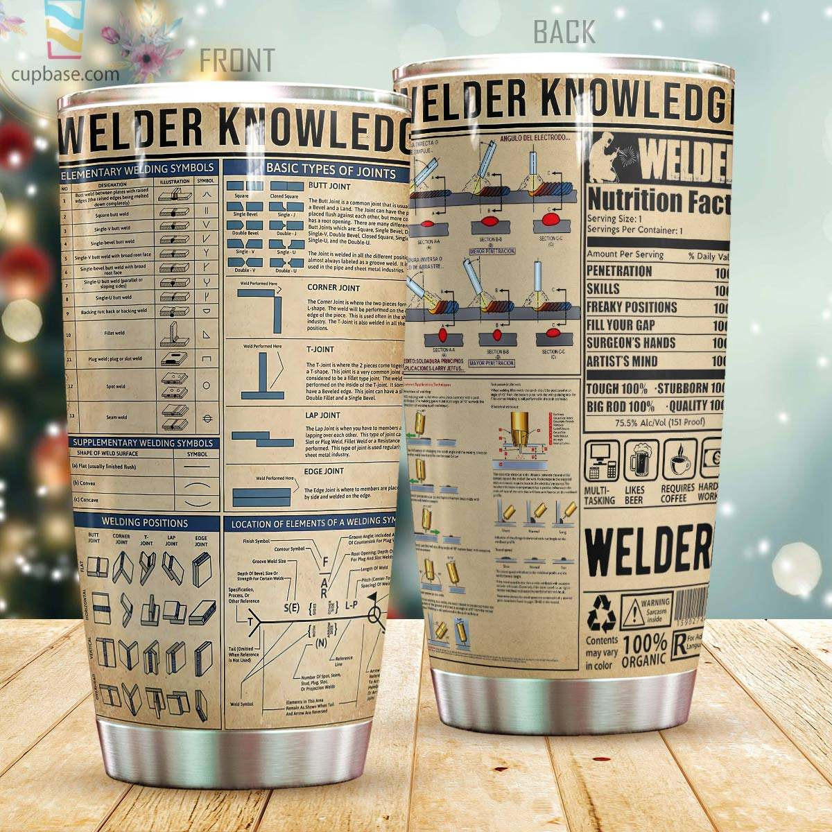 Welder knowledge all over printed tumbler 1