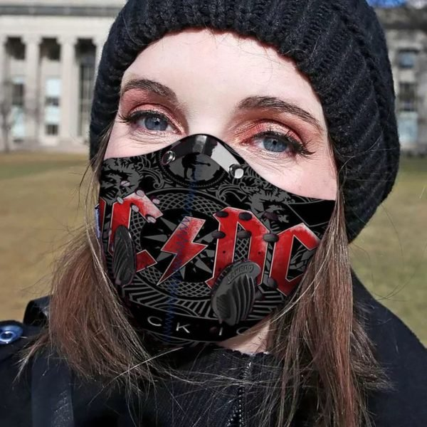ACDC filter activated carbon pm 2,5 face mask 2