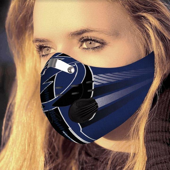 Dallas cowboys grateful dead carbon pm 2,5 face mask 3
