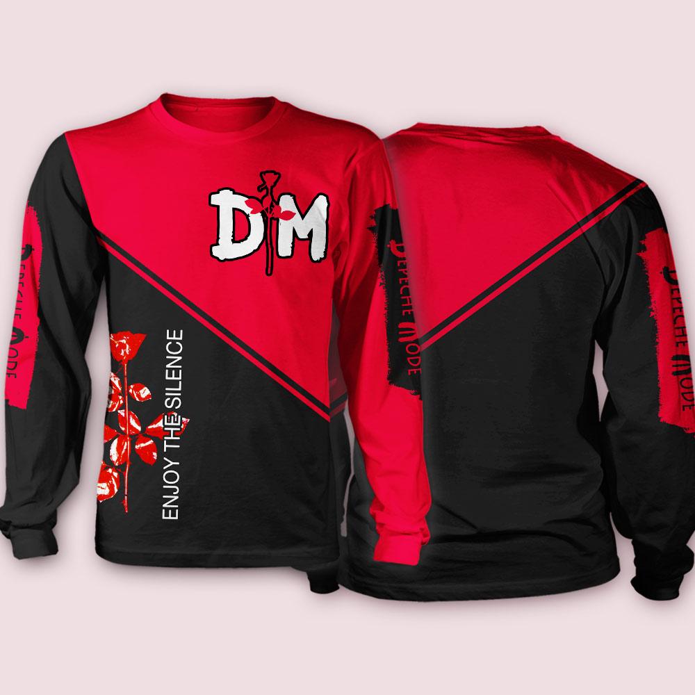 Depeche mode enjoy the silence all over print sweatshirt