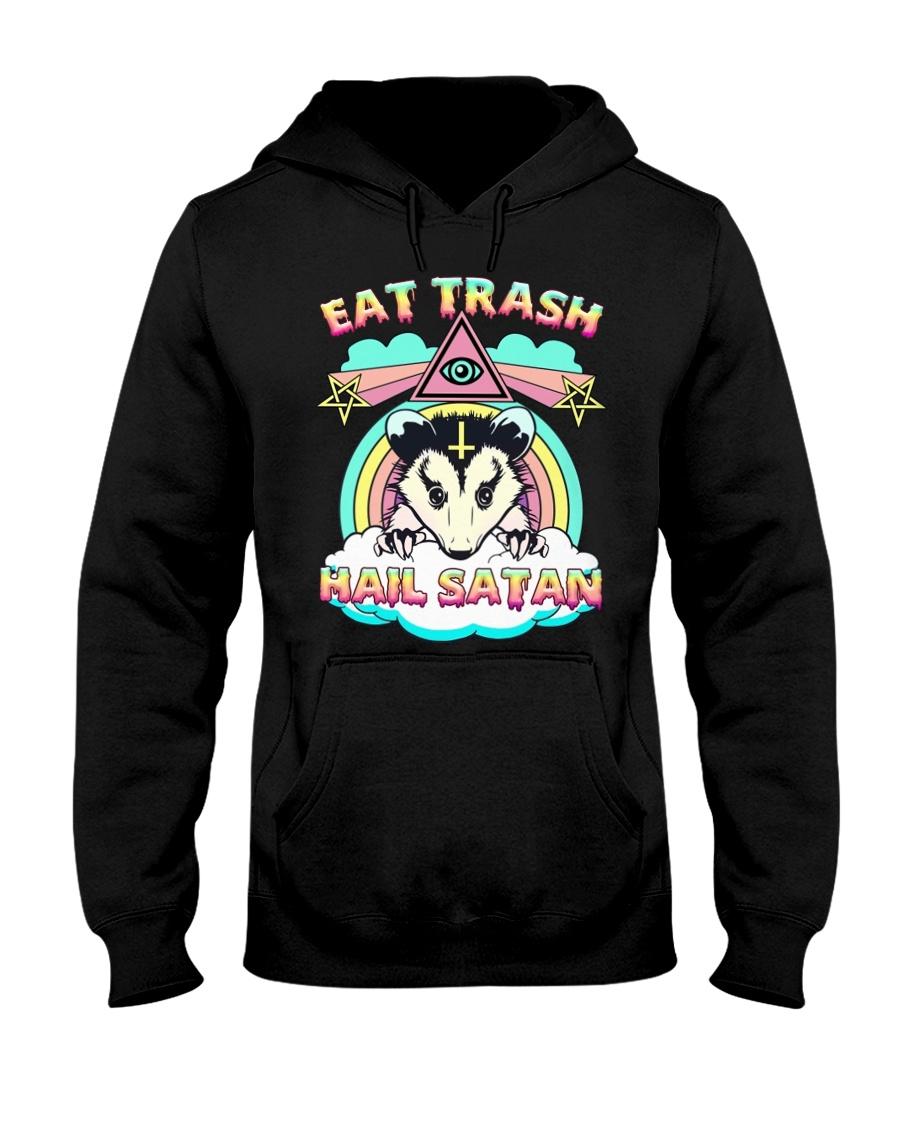 Eat trash hail satan hoodie