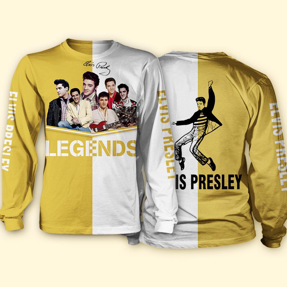 Elvis presley legends full over print sweatshirt