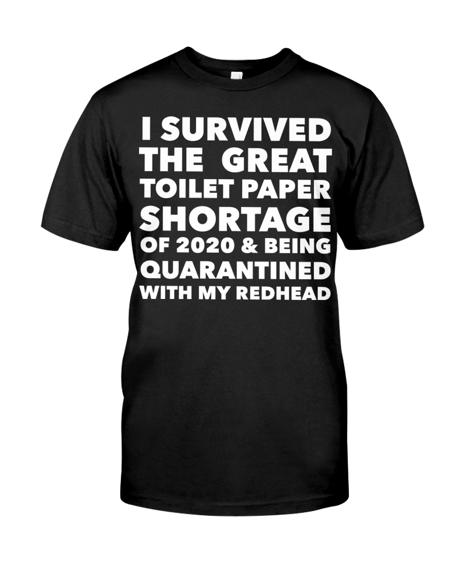 I survived the great toilet paper shortage of 2020 coronavirus guy shirt