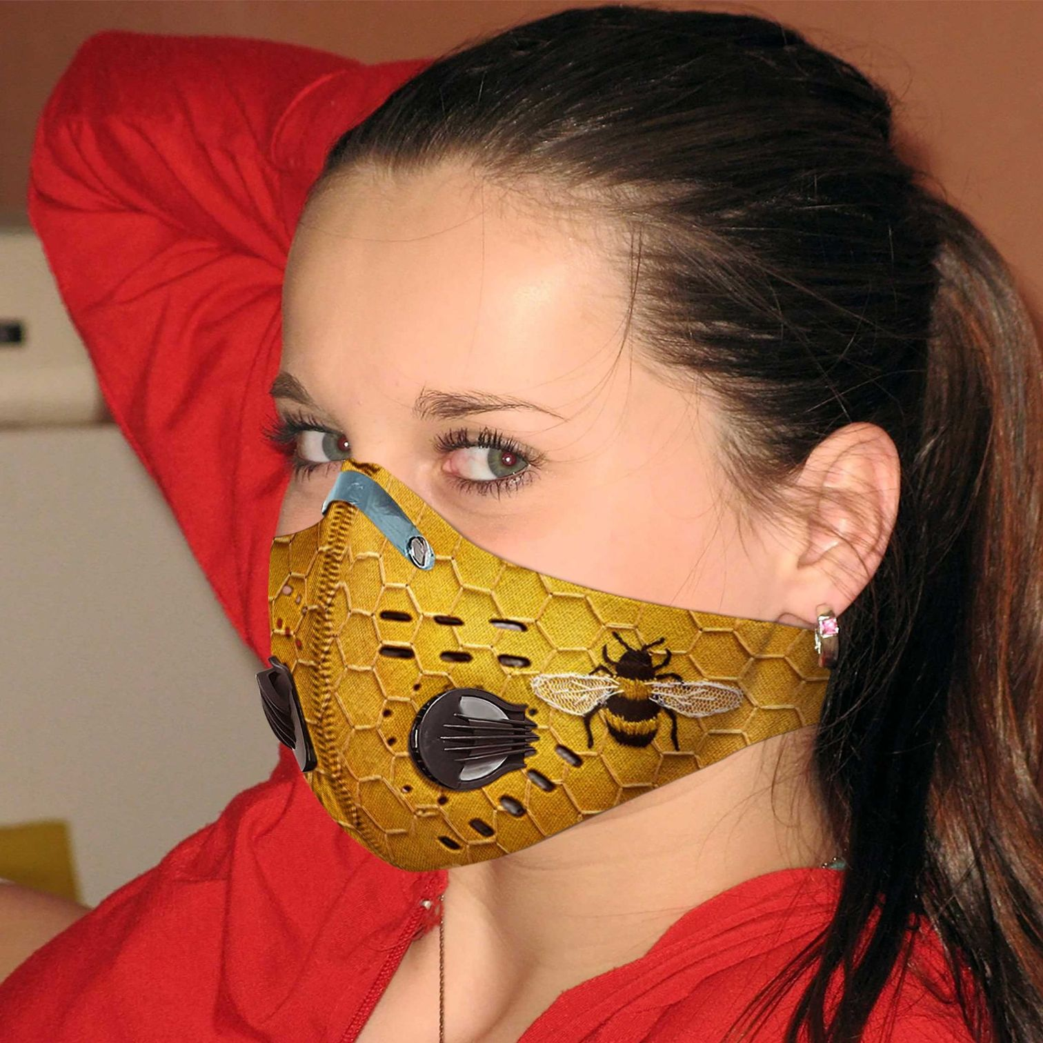 Love bee carbon pm 2,5 face mask 2