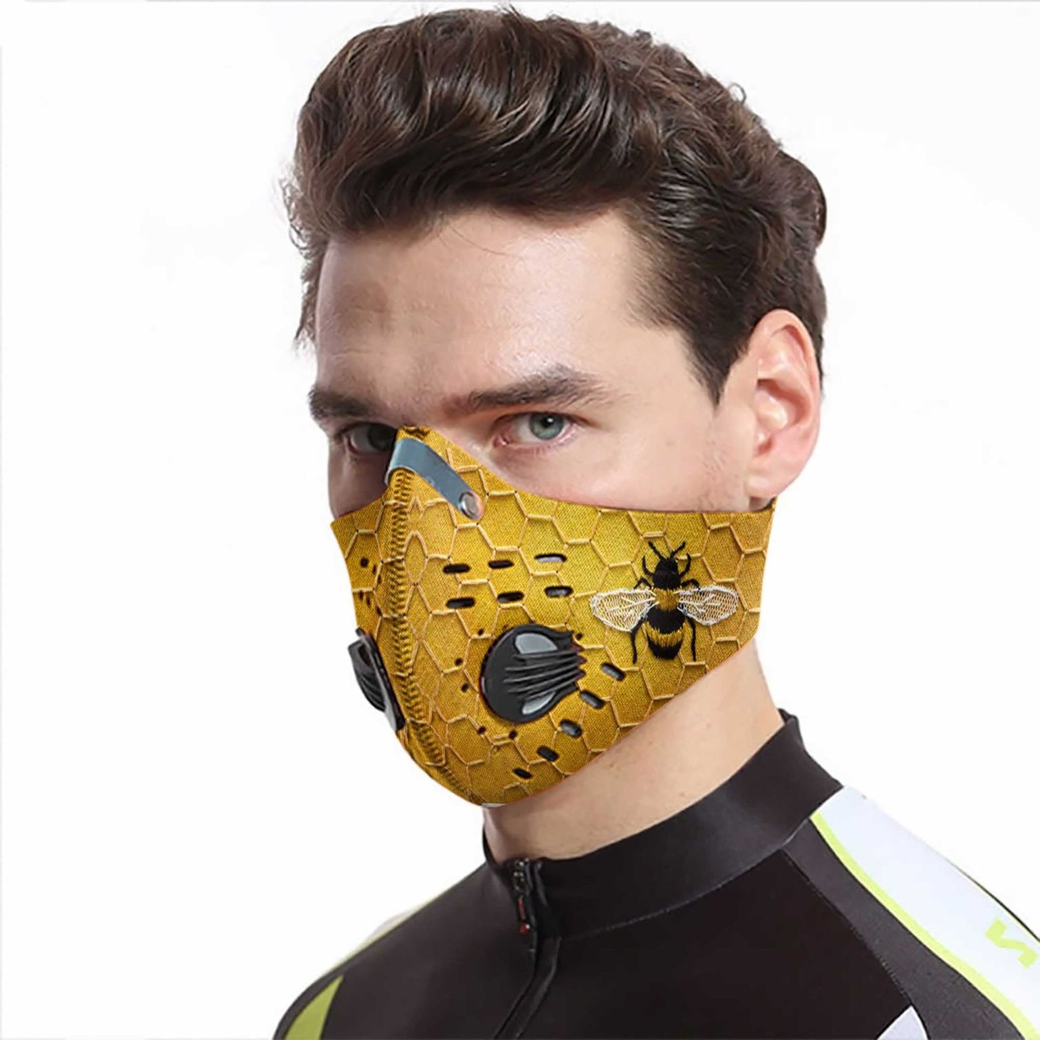 Love bee carbon pm 2,5 face mask 4