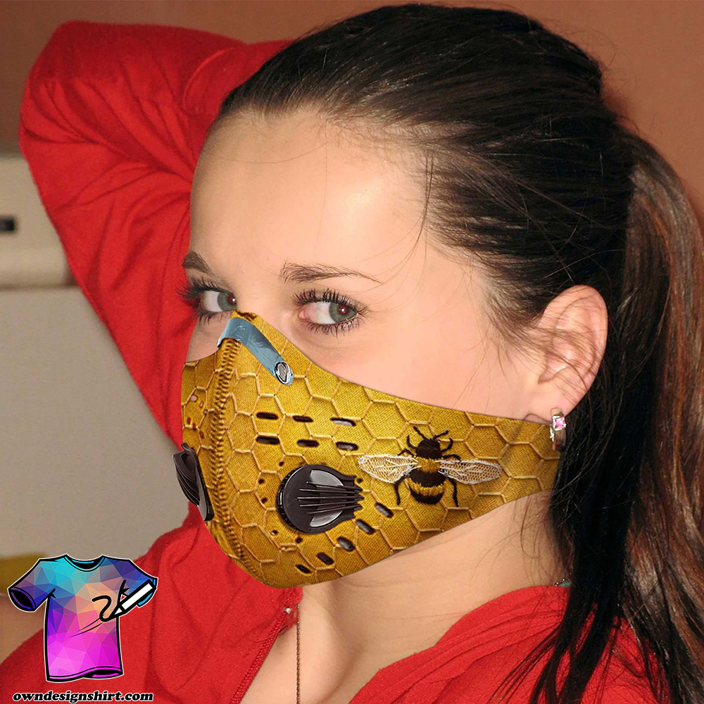 Love bee carbon pm 2,5 face mask
