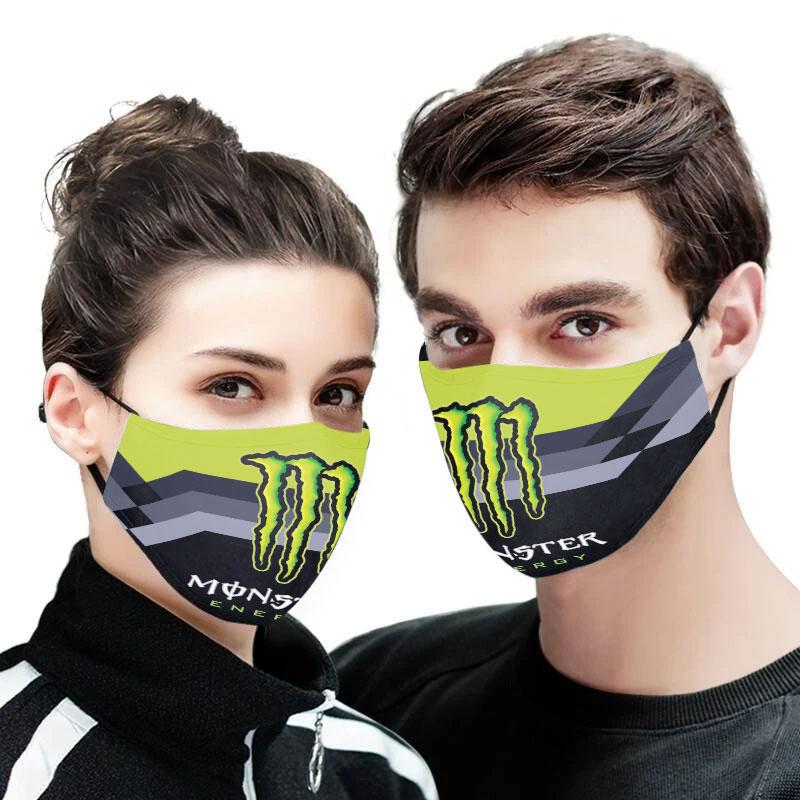 Monster energy full printing face mask 1