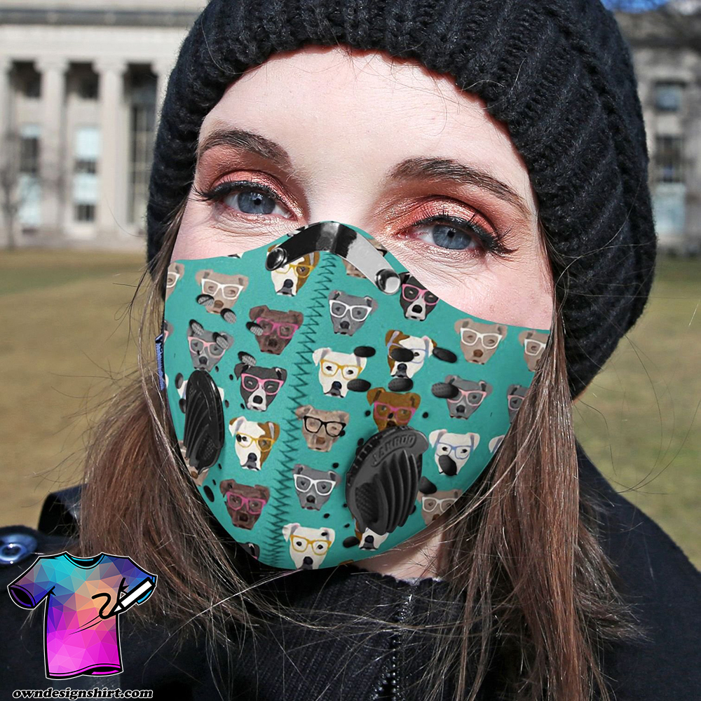 Pitbull collection carbon pm 2,5 face mask