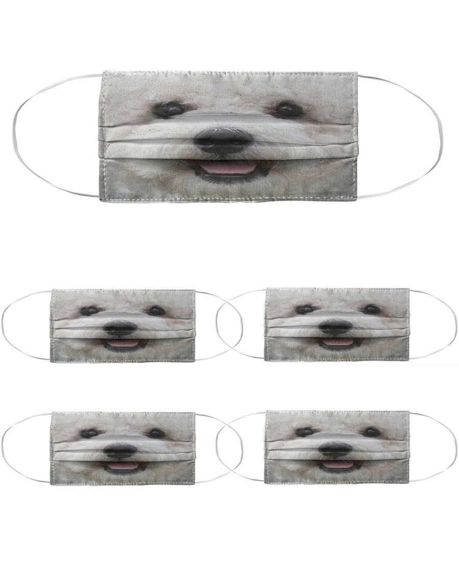 Puppy dog mouth anti-dust face mask 3