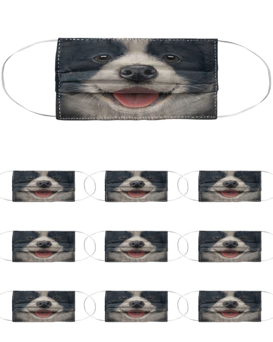 Schnauzer dog face mask 4