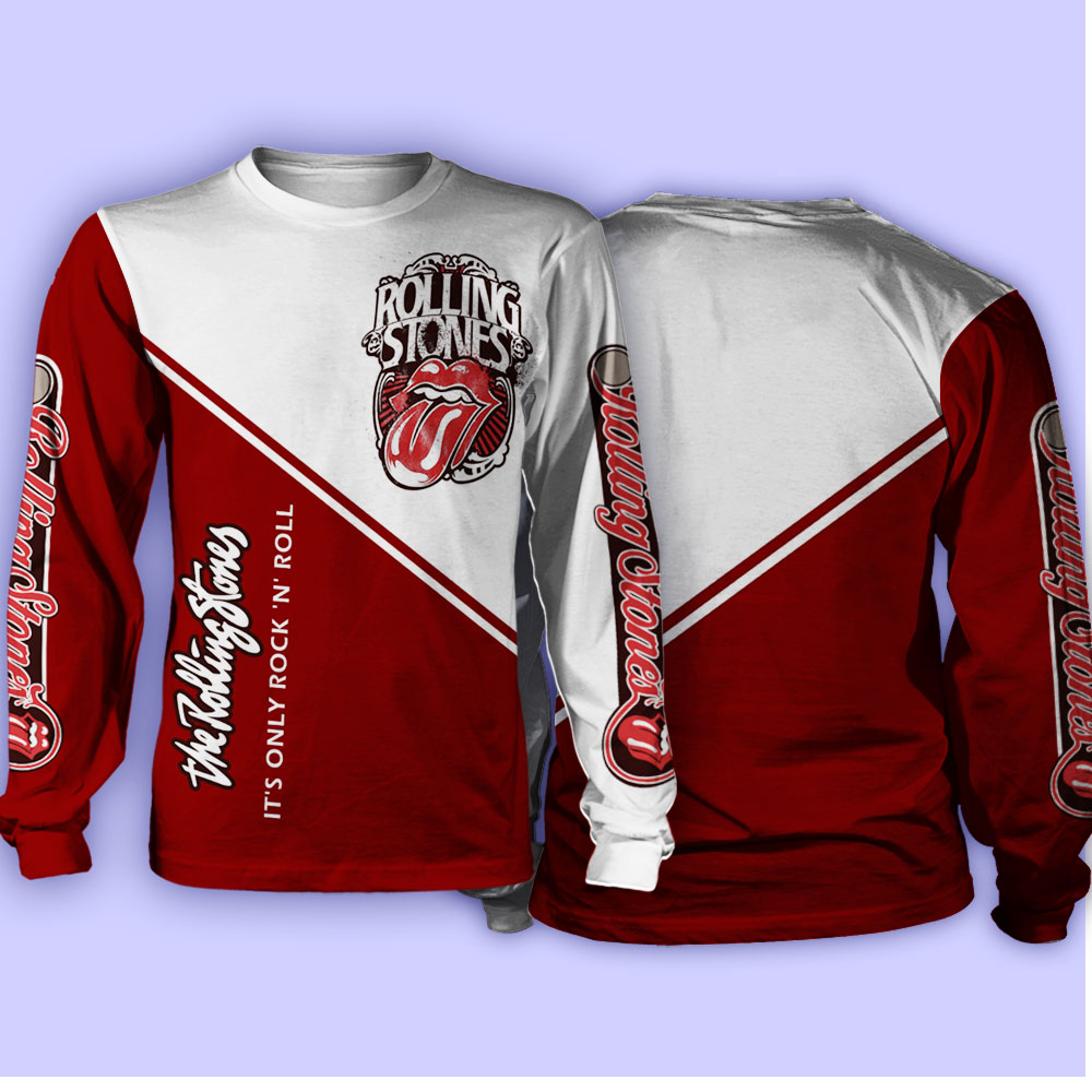 The rolling stones it's only rock 'n roll full over print sweatshirt