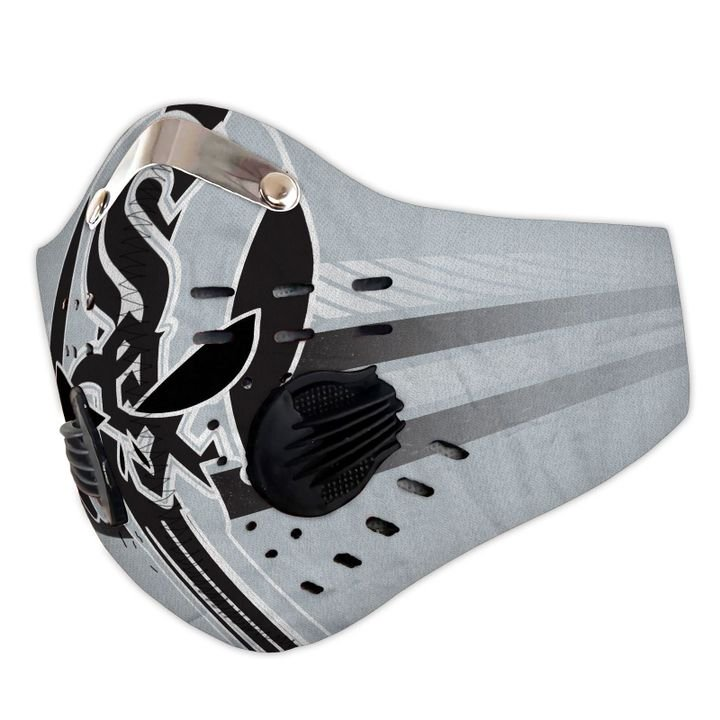 The skull carbon pm 2,5 face mask 1