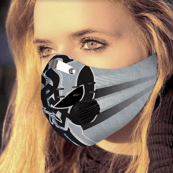 The skull carbon pm 2,5 face mask 3