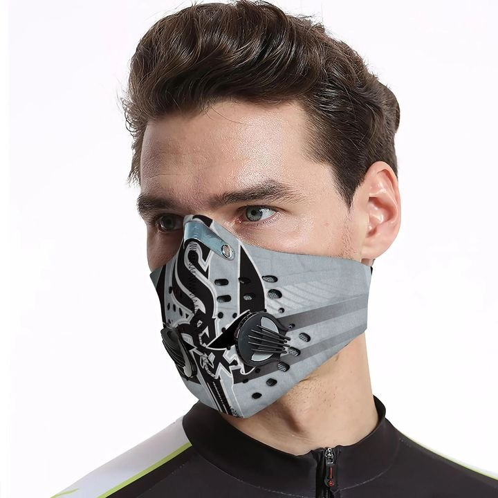 The skull carbon pm 2,5 face mask 4