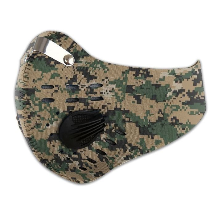 The united states marine corps camo filter activated carbon face mask 4