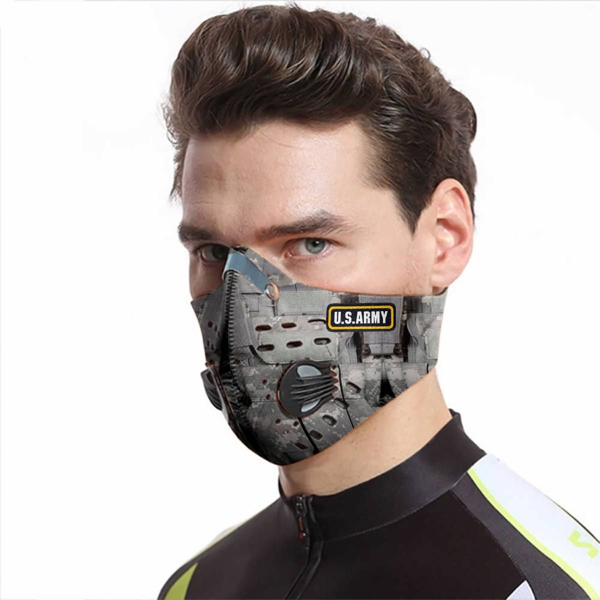 US army proud carbon pm 2,5 face mask 1