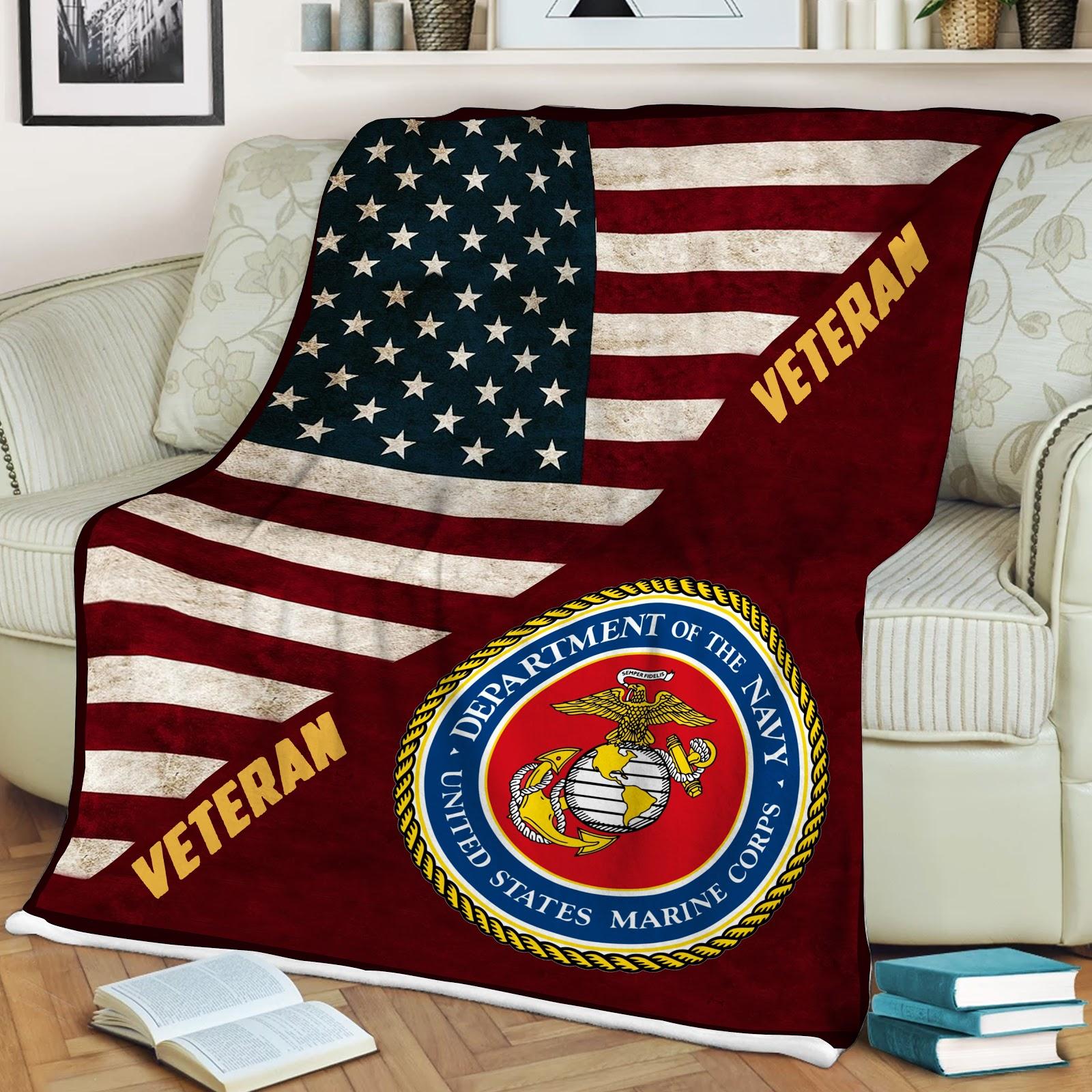 Veteran of marine full printing blanket 1