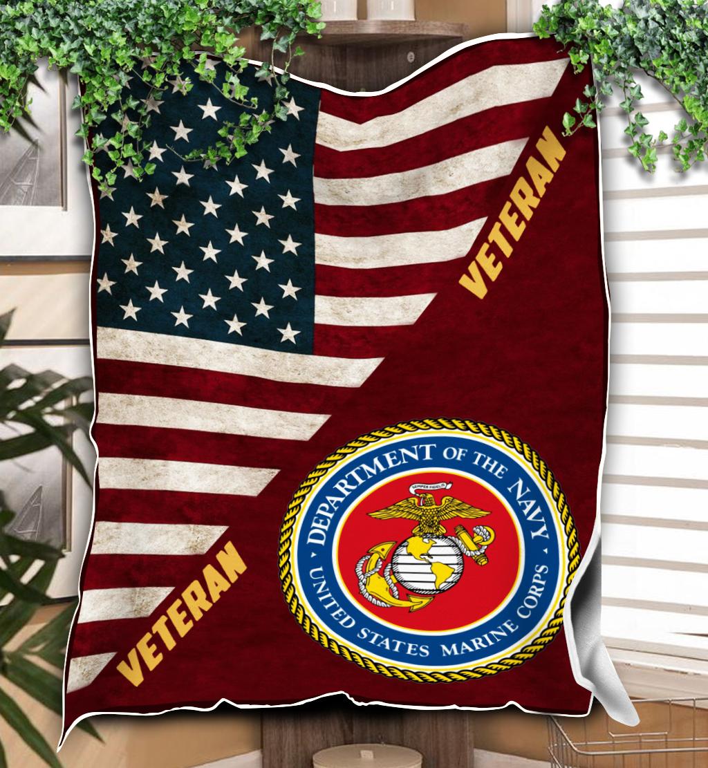 Veteran of marine full printing blanket 4