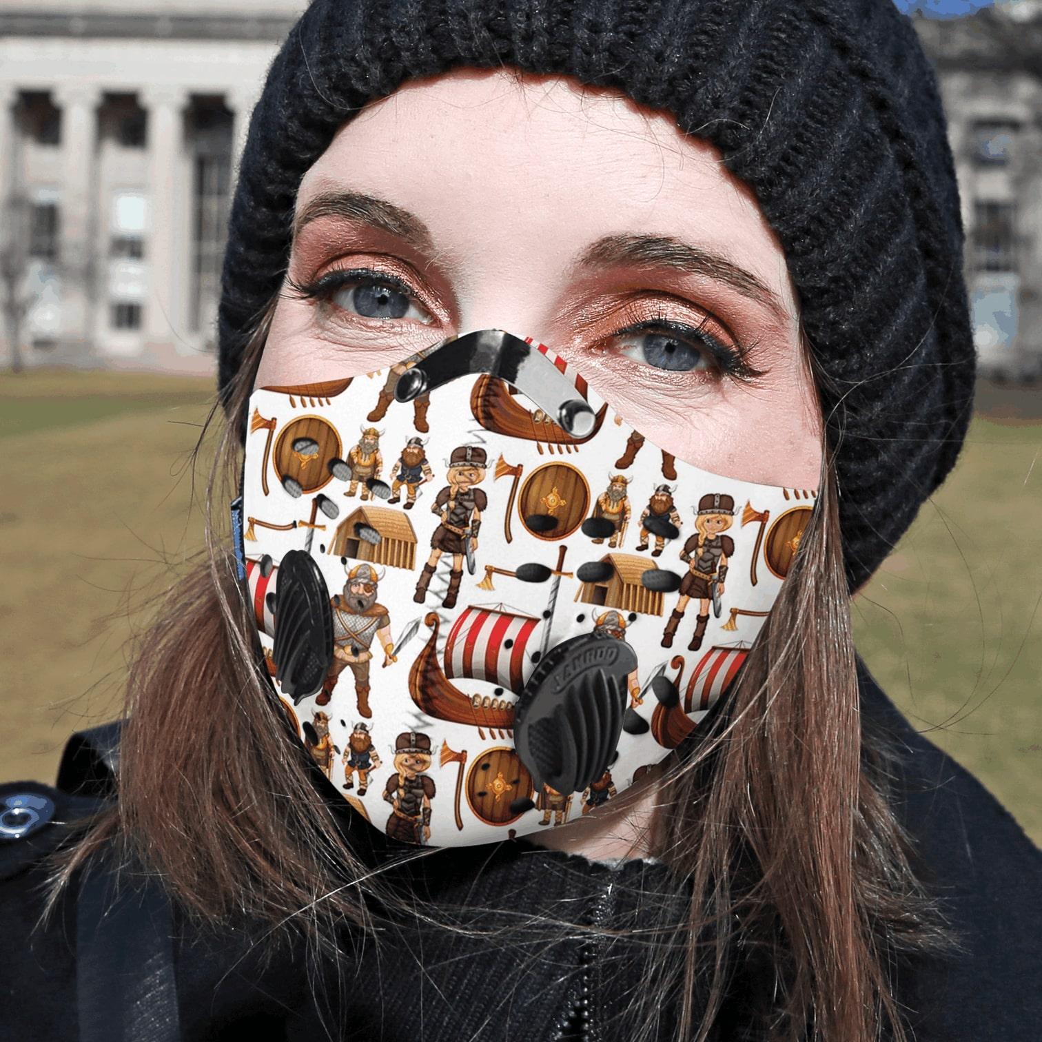 Viking carbon pm 2,5 face mask 1