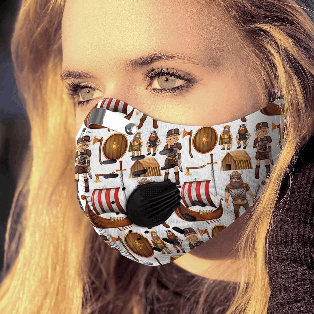 Viking carbon pm 2,5 face mask 3