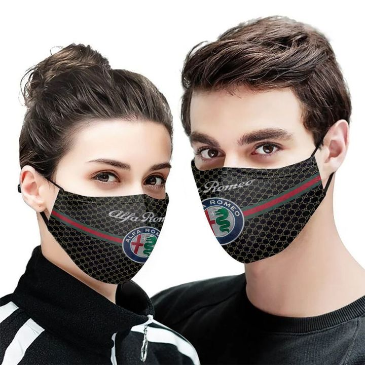 Alfa romeo symbol anti-dust cotton face mask 2