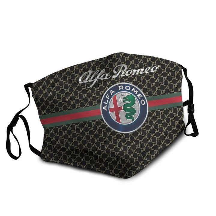 Alfa romeo symbol anti-dust cotton face mask 4