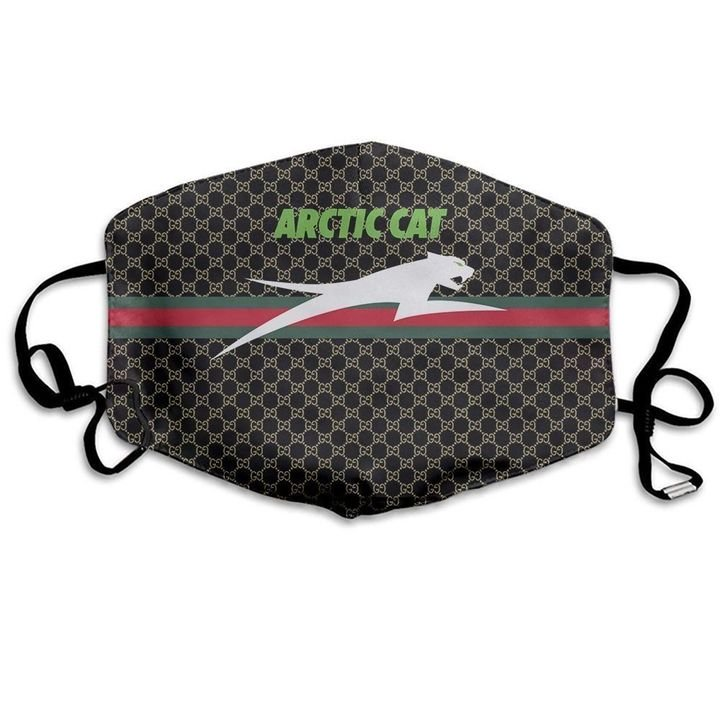 Arctic cat symbol anti-dust cotton face mask 3