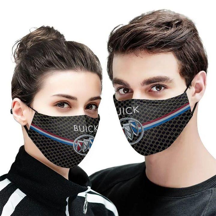 Buick symbol anti-dust cotton face mask 2