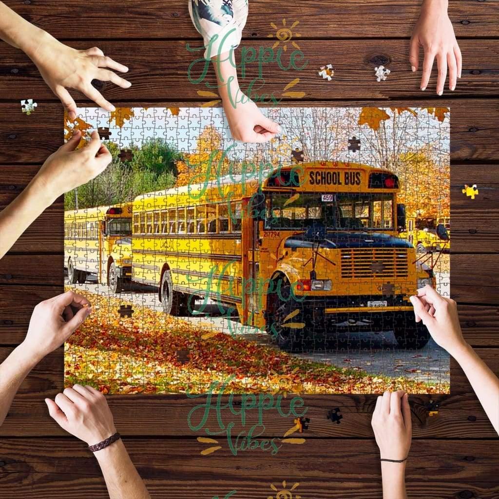 Bus driver school bus jigsaw puzzle 2