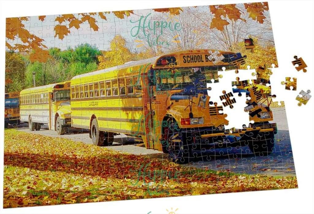 Bus driver school bus jigsaw puzzle 3