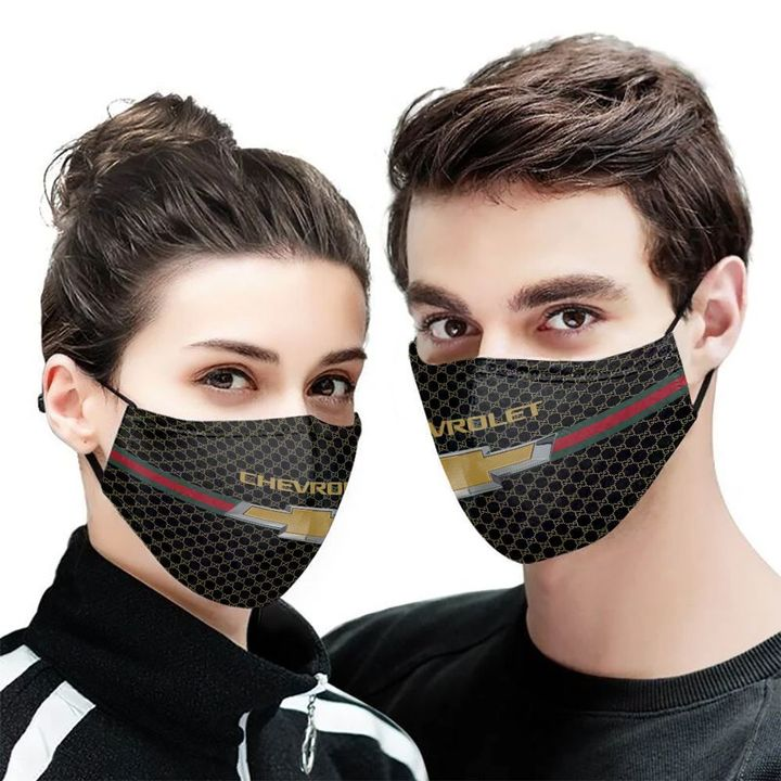Chevrolet symbol anti-dust cotton face mask 1