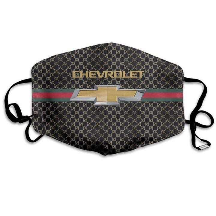 Chevrolet symbol anti-dust cotton face mask 3
