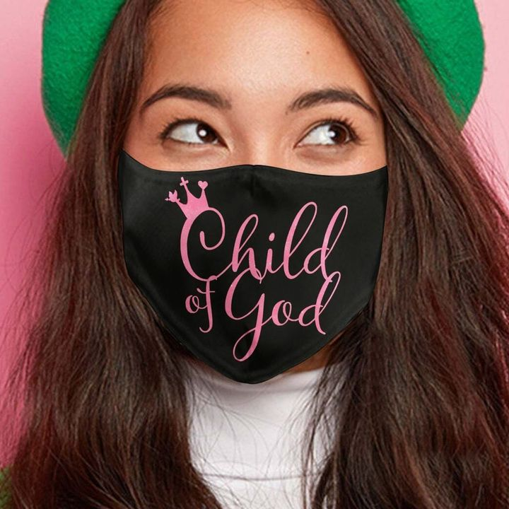 Child of god anti-dust cotton face mask 1