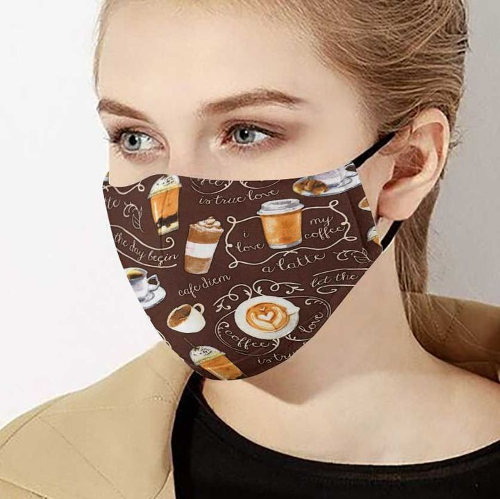 Coffee lover for the day begin anti-dust face mask 4
