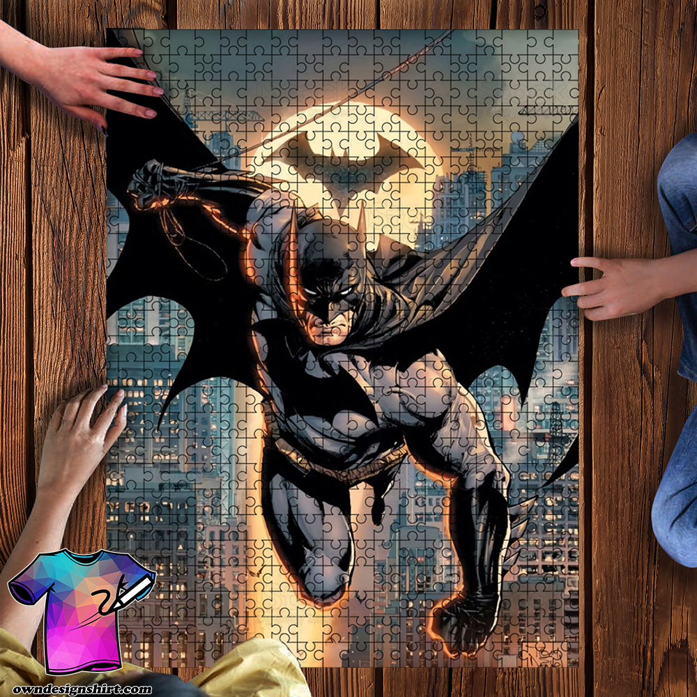 DC comics batman jigsaw puzzle