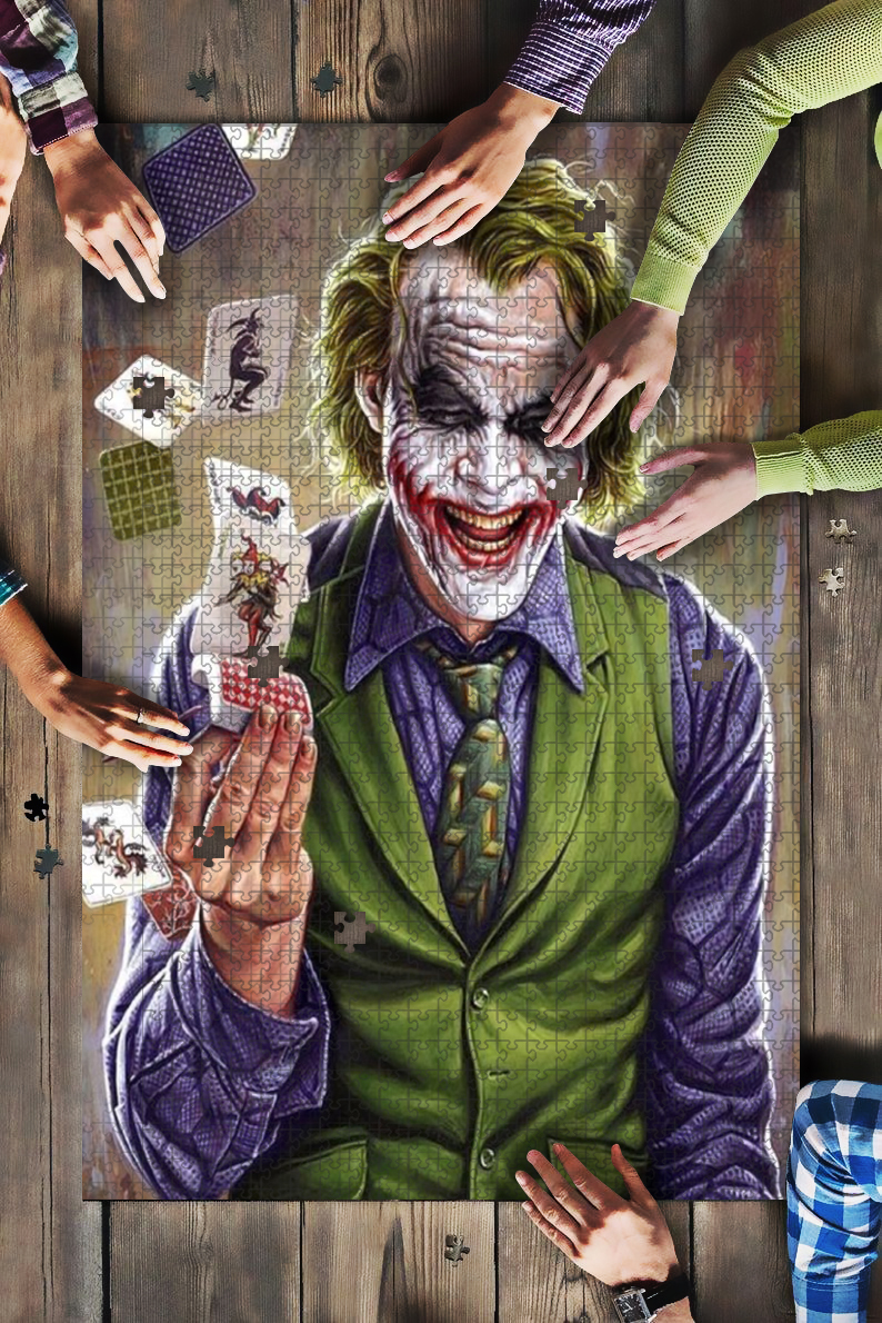 DC comics the joker jigsaw puzzle 1