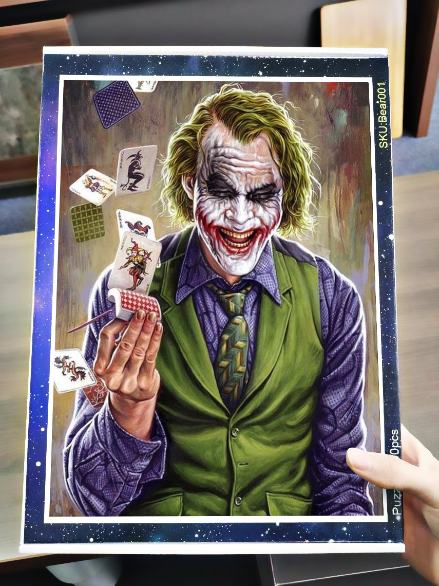 DC comics the joker jigsaw puzzle 3