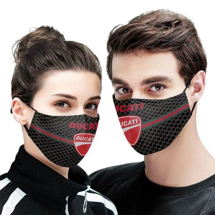 Ducati motor symbol anti-dust cotton face mask 1