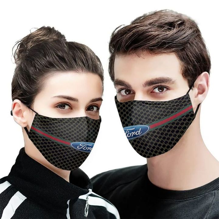 Ford motor symbol anti-dust cotton face mask 2