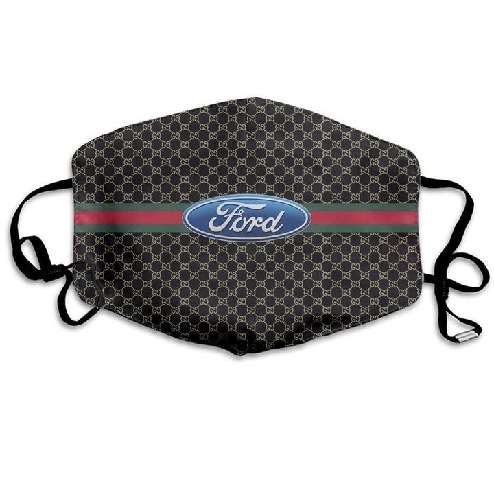Ford motor symbol anti-dust cotton face mask 3
