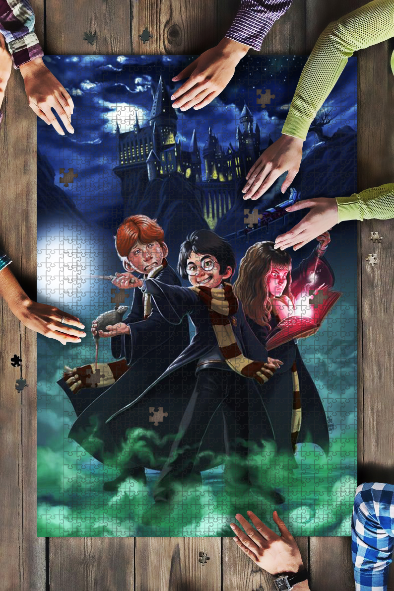 Harry potter characters jigsaw puzzle 1