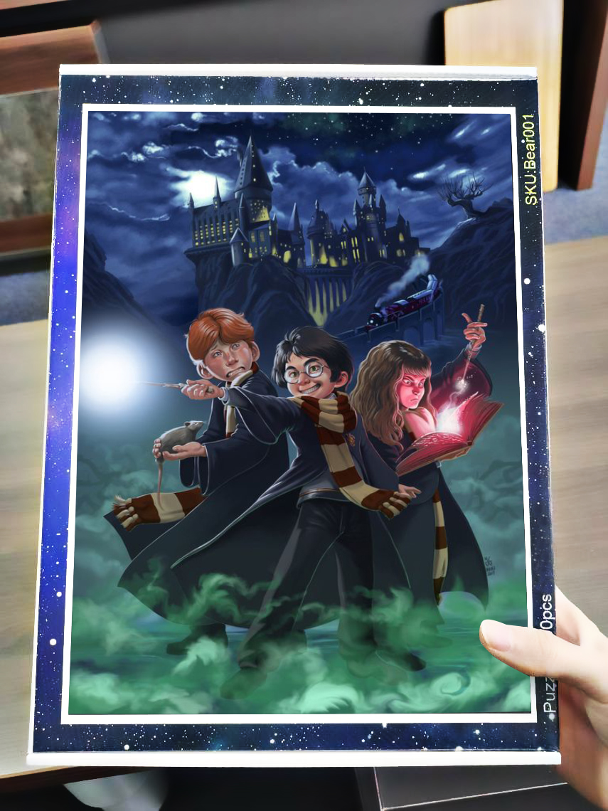 Harry potter characters jigsaw puzzle 3
