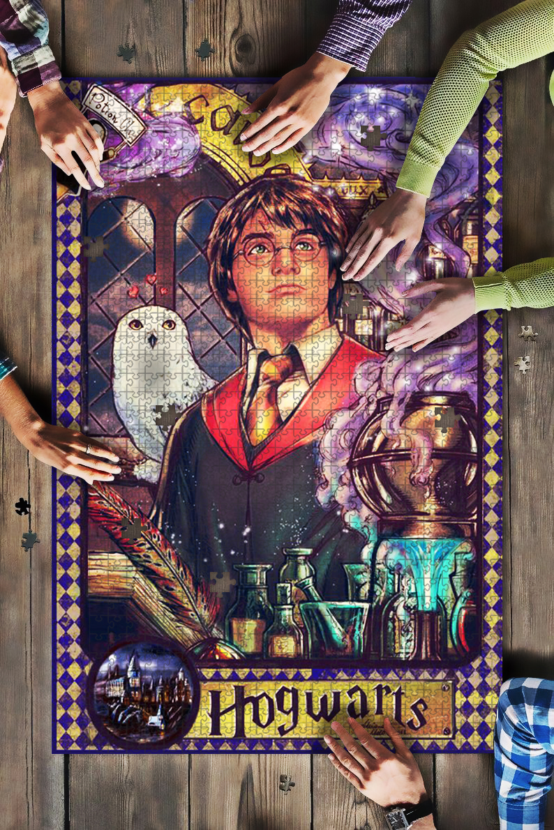 Harry potter hogwarts jigsaw puzzle 2