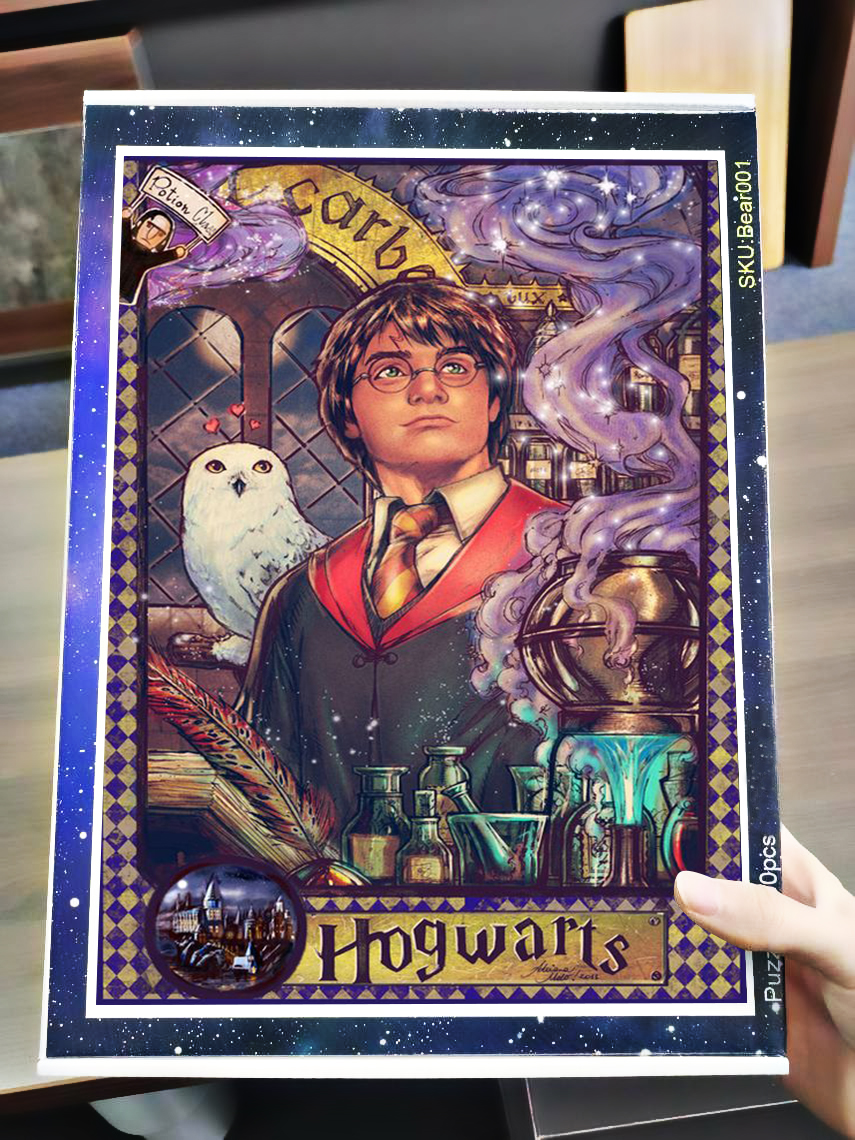 Harry potter hogwarts jigsaw puzzle 4