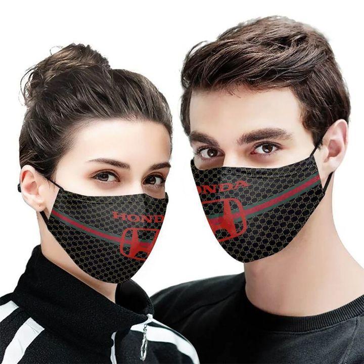 Honda motor symbol anti-dust cotton face mask 1