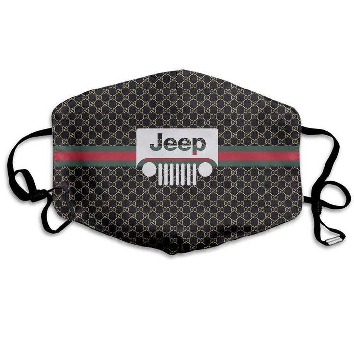 Jeep symbol anti-dust cotton face mask 3