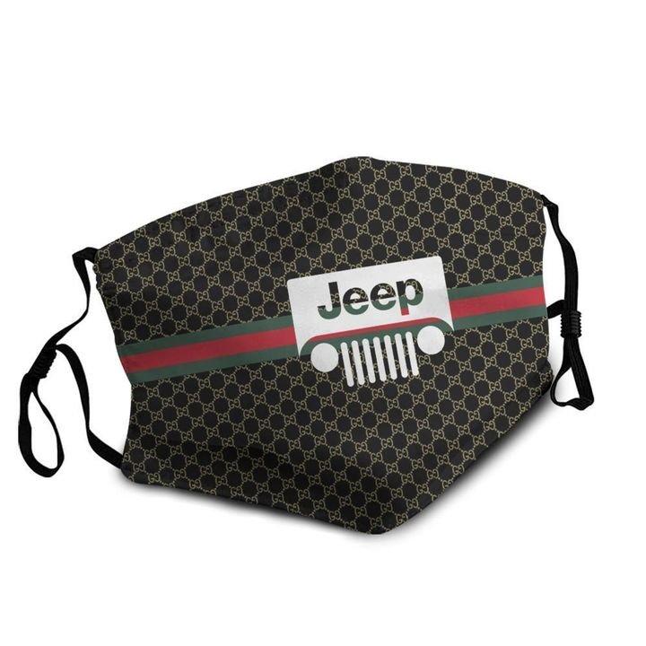 Jeep symbol anti-dust cotton face mask 4